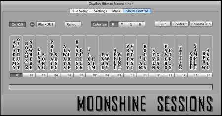 Moonshine Sessions software