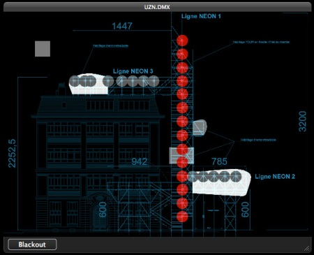 UZN: DMX light controller app | 1024 Architecture Blog / MadMapper